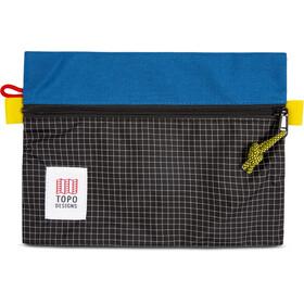 Topo Designs Torba na akcesoria M, blue/black ripstop